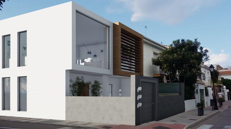 Ristrutturazione di una casa terrazza