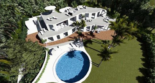 Ristrutturazione di una villa di lusso